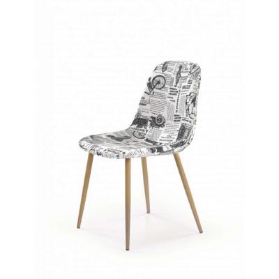 K220 krzesło wielobarwne Halmar