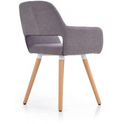 K283 krzesło popielate Halmar