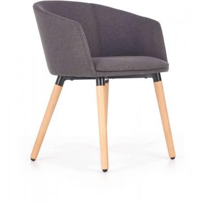 K266 krzesło ciemny popiel Halmar