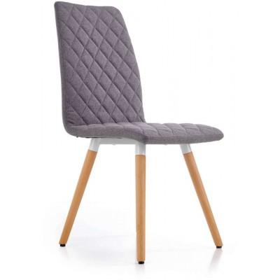 K282 krzesło popielate Halmar