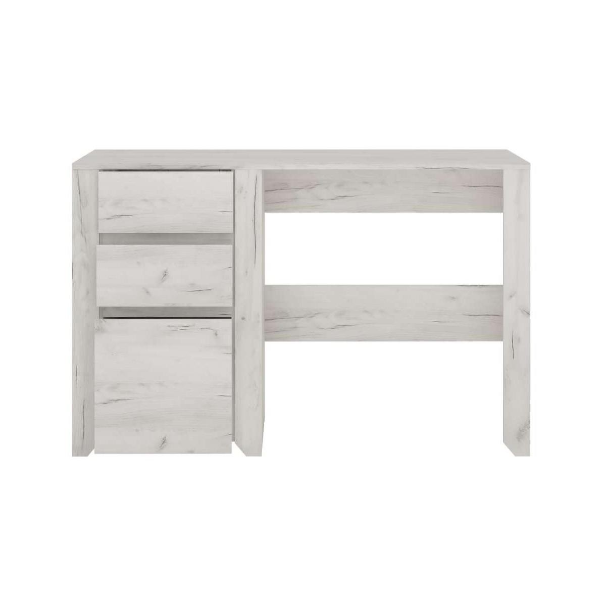Biurko do pokoju młodzieżowego Dąb White Craft, Angel Typ 80