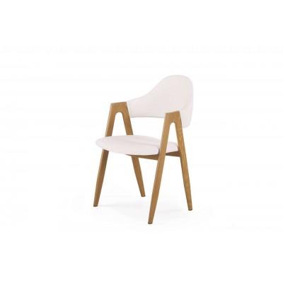 K247 krzesło białe Halmar