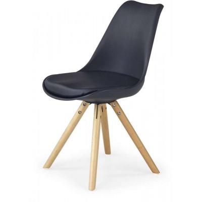 K201 czarne krzesło Halmar