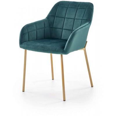 K306 ciemno zielone krzesło Halmar