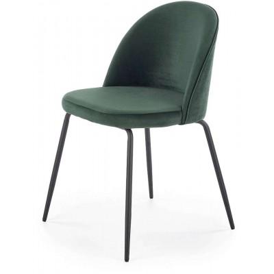 K314 krzesło ciemno zielone Halmar