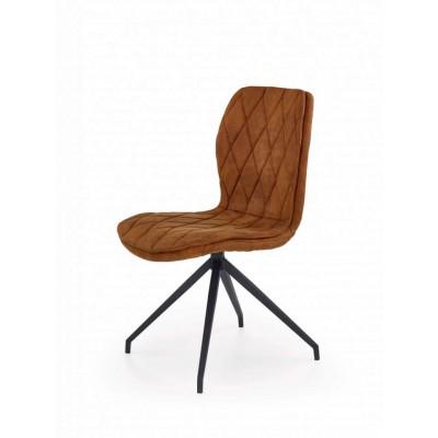 K237 krzesło brązowe