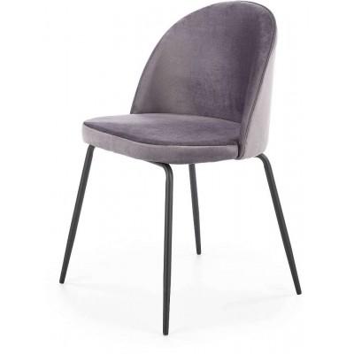 K314 krzesło ciemny popiel Halmar