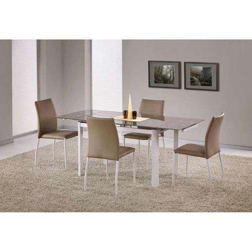 Alston stół beżowy/biały Halmar