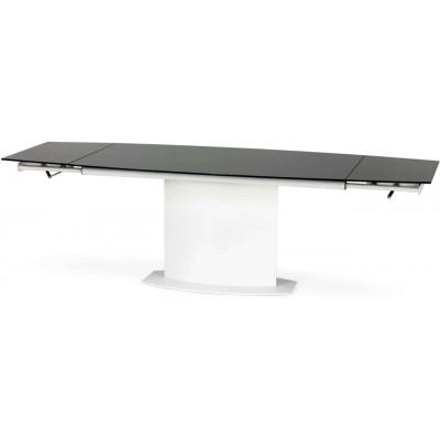 Anderson stół rozkładany biało-czarny