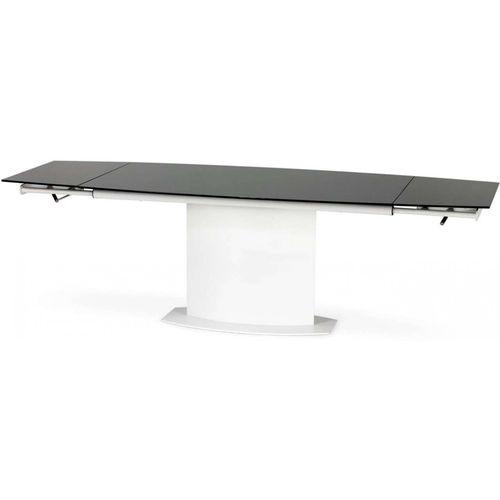 Anderson stół rozkładany biało-czarny Halmar