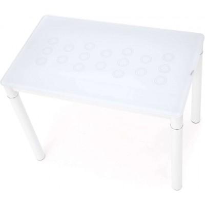 Argus stół mleczno-biały