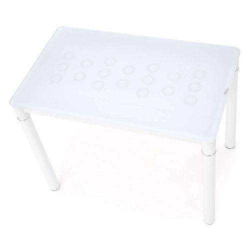 Argus stół mleczno-biały Halmar