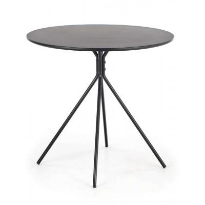 Fondi stół okrągły 80 czarny