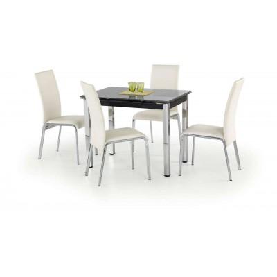 Logan stół rozkładany czarny Halmar