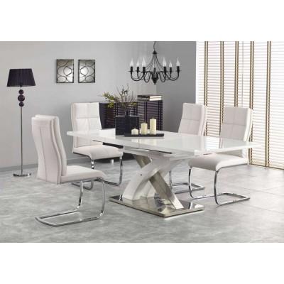 Sandor 2 stół rozkładany biały Halmar