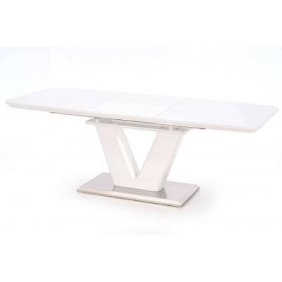 Mistral stół rozkładany biały połysk Halmar