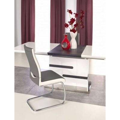 Monaco stół stół rozkładany biały / popiel