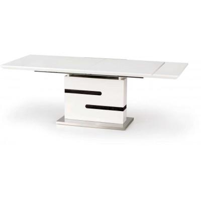 Monaco stół stół rozkładany biały / popiel Halmar