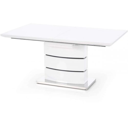 Nobel stół rozkładany biały Halmar