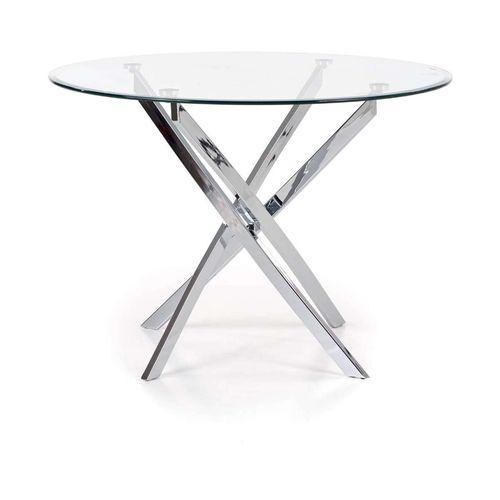 Raymond stół okrągły szklany Halmar