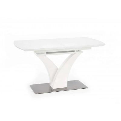 Palermo stół rozkładany biały mat Halmar