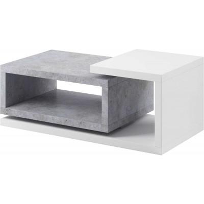 Bota Stolik prostokąt 97 biały / beton colorado Helvetia Wieruszów