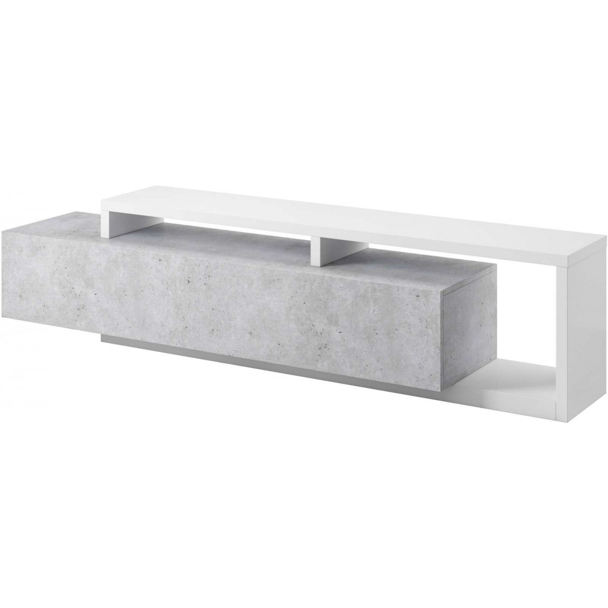 Bota Komoda TV Typ 40 biały / beton colorado