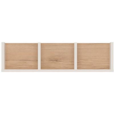 Półka do pokoju młodzieżowego biały alpejski / san remo Amazon Typ 62