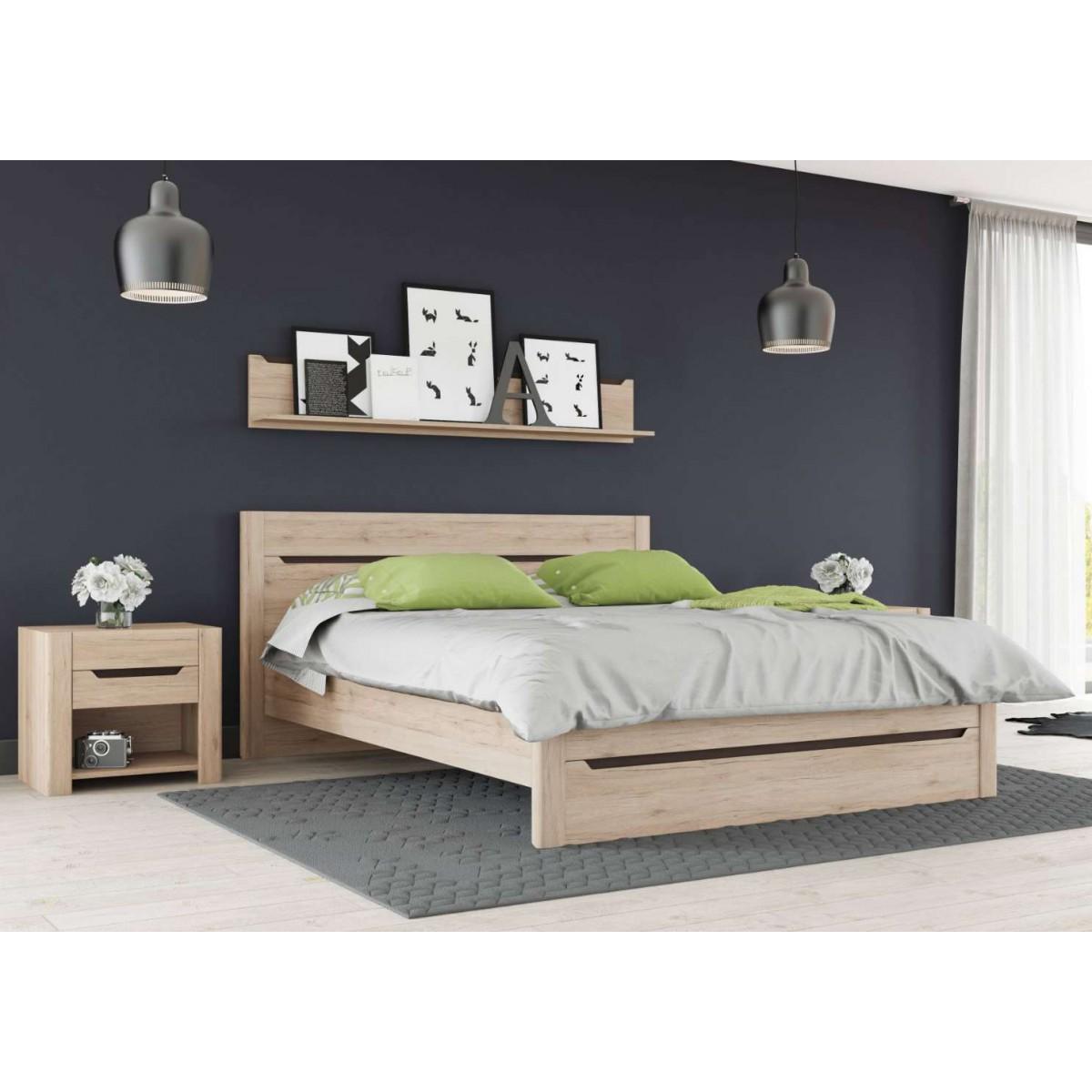 Łóżko 140 cm Desjo Typ 50