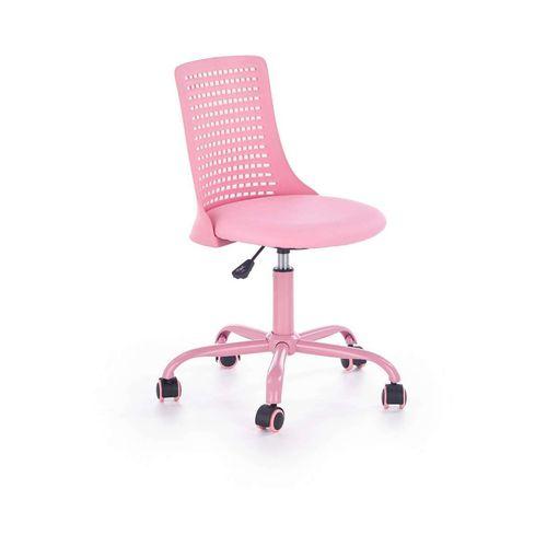 Pure fotel młodzieżowy różowy Halmar