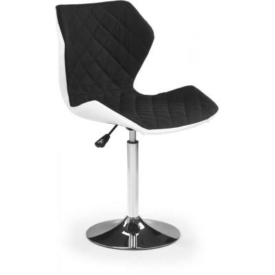Matrix 2 fotel biało-czarny Halmar