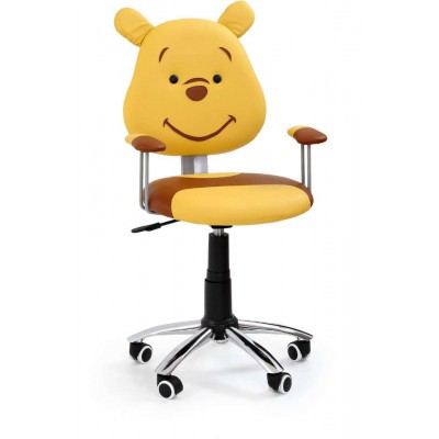 Kubuś fotel obrotowy dziecięcy miś Halmar