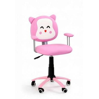 Kitty fotel dziecięcy różowy kotek Halmar
