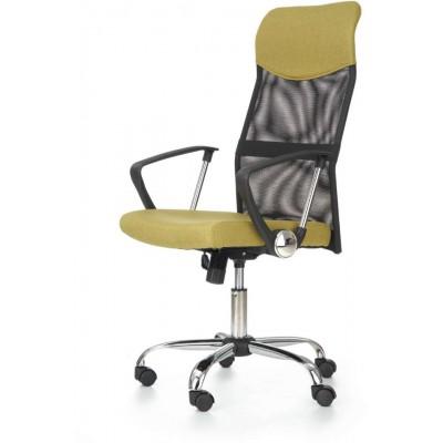 Vire fotel biurowy zielony Halmar