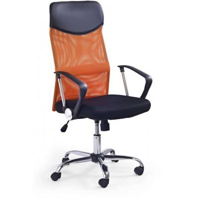 Vire fotel biurowy pomarańczowy Halmar