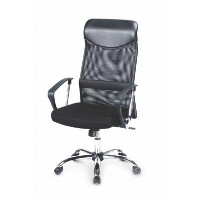 Vire fotel biurowy czarny Halmar