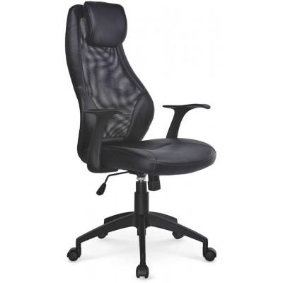 Torino fotel biurowy czarny Halmar