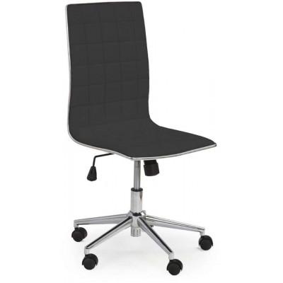 Tirol fotel biurowy czarny Halmar