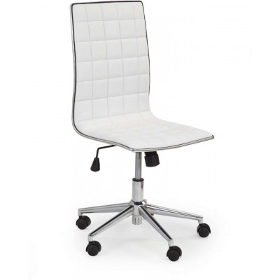 Tirol fotel biurowy biały Halmar