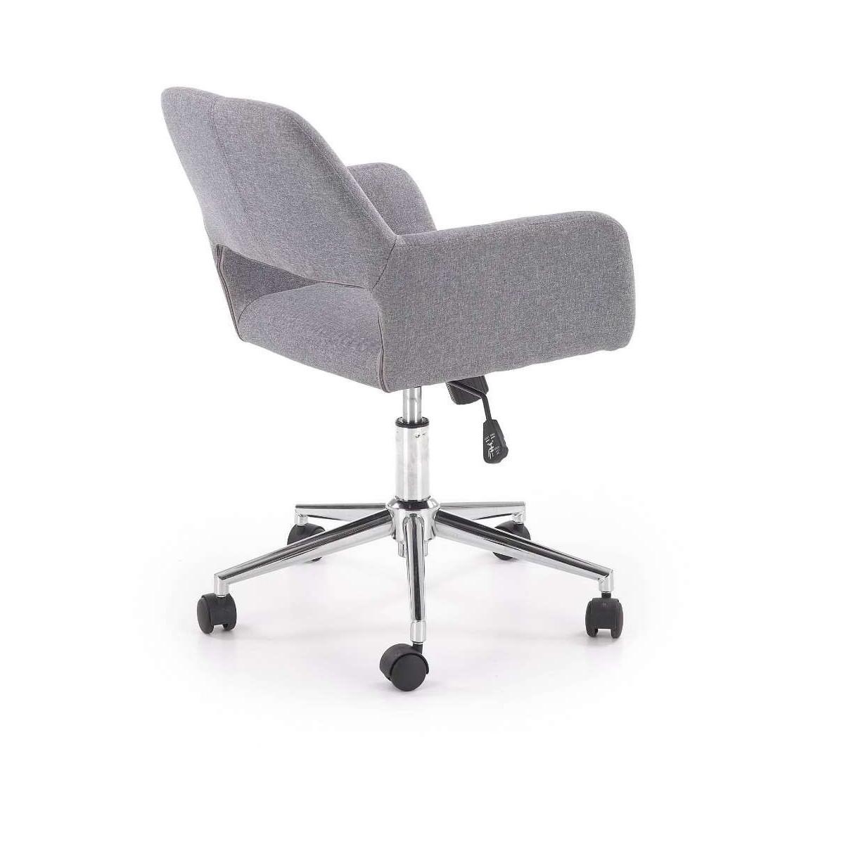 Morel fotel biurowy popiel