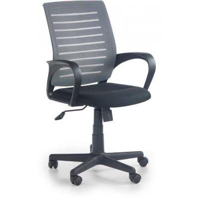 Santana fotel biurowy czarno-popielaty Halmar