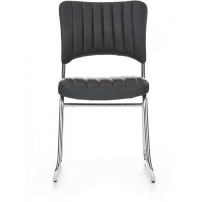Rapid wygodne krzesło konferencyjne czarne Halmar