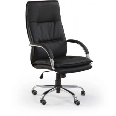 Stanley fotel biurowy czarny Halmar