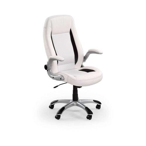 Saturn fotel biurowy biały Halmar
