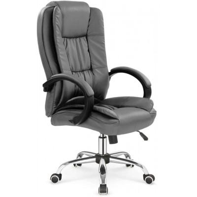 Relax fotel biurowy popielaty Halmar