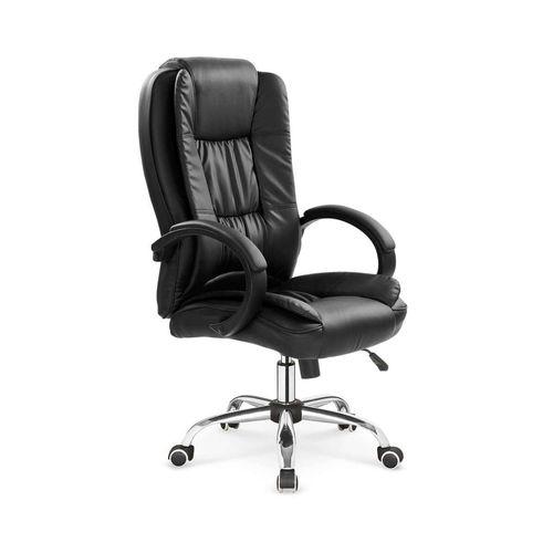 Relax fotel biurowy czarny Halmar