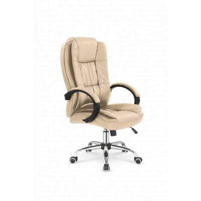 Relax fotel biurowy beżowy Halmar