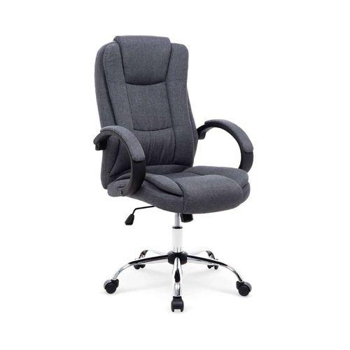 Relax 2 fotel biurowy ciemny popielaty Halmar