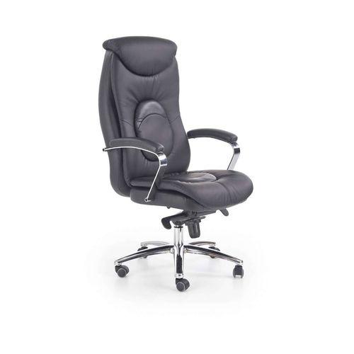 Quad fotel biurowy czarny Halmar