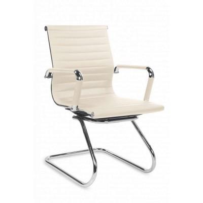 Prestige skid fotel biurowy kremowy Halmar